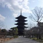 【京都小紀行 年末編7】東寺の五重塔