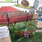 吉祥寺:ピッツェリアGGの、かた~いピザ