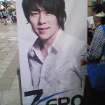韓流歌手ZEROのインストアライブ
