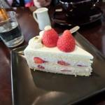 【上高地に初宿泊!7】最終回:五千尺ホテルのケーキセット