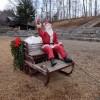 八ヶ岳のクリスマス