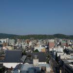 【京都小紀行 母娘編4】ホテル日航プリンセス京都からの素晴らしい眺め