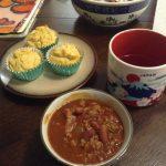 Chiliスープ作りました