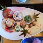 奥多摩・川井【花あそび】の食事